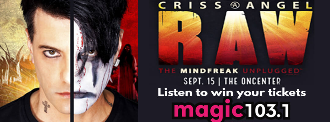 Criss Angel at the OnCenter in Syracuse