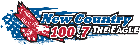 The Eagle 100.7 logo