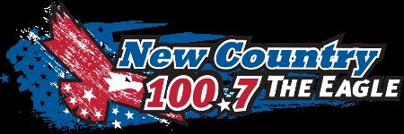The Eagle 100.7 logo